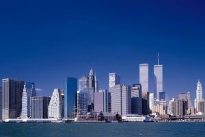 Twin Towers Still Standing
