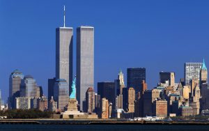 New Twin Towers in New York