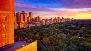 New York Central Park Sunset