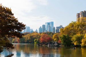 New York Central Park Lake