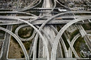 Don't get lost: the complicated highway interchange