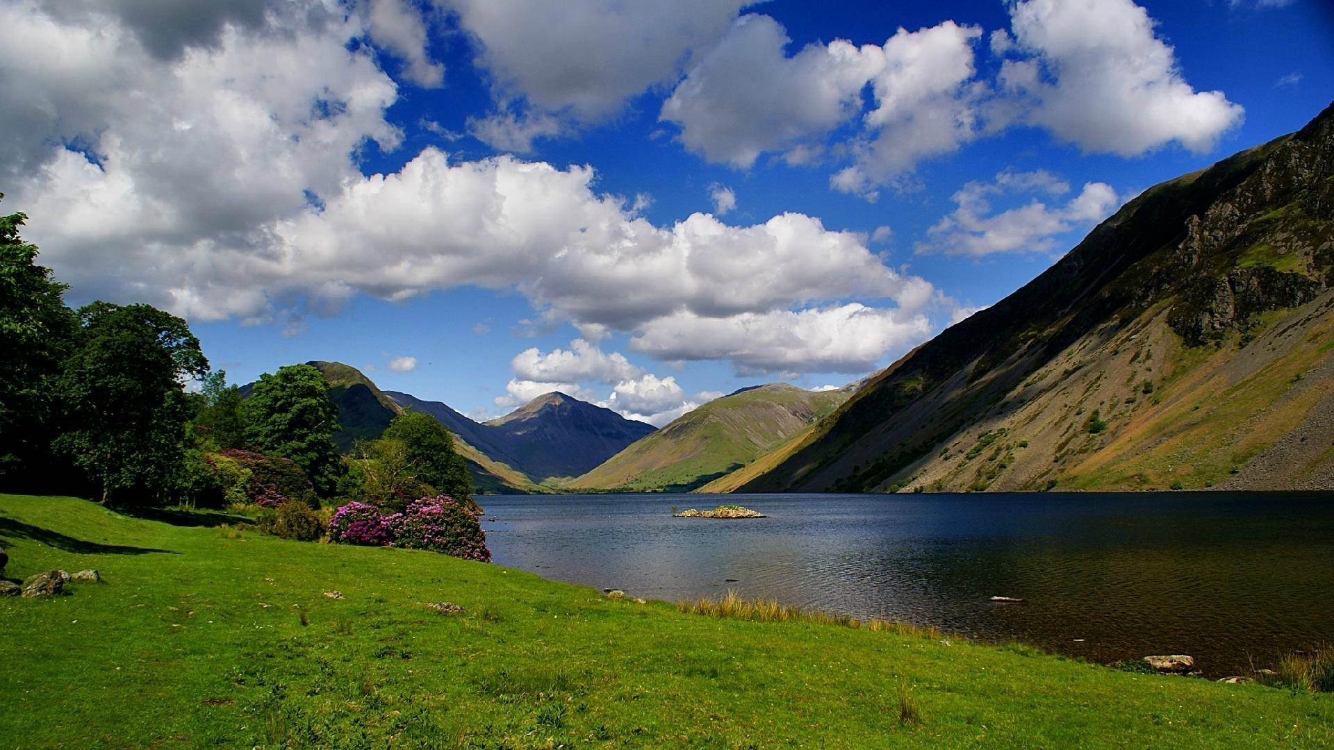 Most Beautiful Lake In The Lake District Wallpaper 1920x1080 px