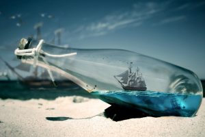 Pirates Of Caribbean Ship Message In A Bottle