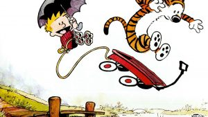 The Calvin and Hobbes Wagon