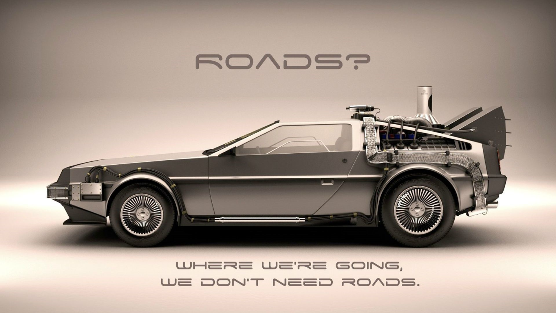 We're Going We Don't Need Roads Wallpaper 1920x1080 px