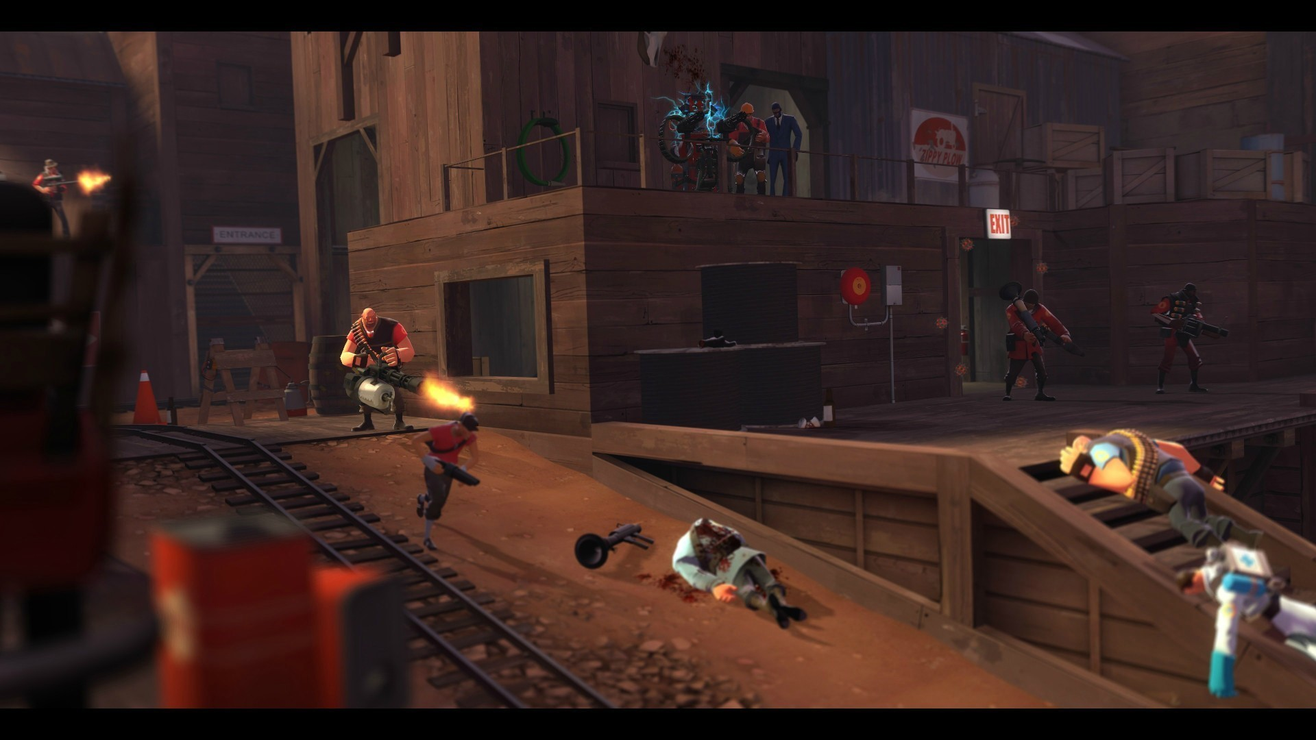 Game Poster, Video Games, Team Fortress 2 Wallpaper 1920x1080 px